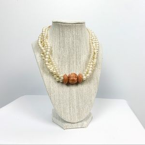 Vintage Pearl Style Necklace
